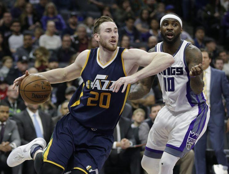 The Celtics could pursue a big-name free agent such as Gordon Hayward. (AP)