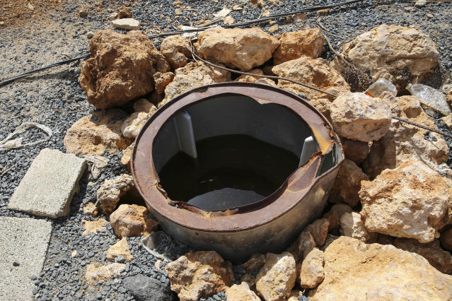 Residents in the Puerto Rican community of Villa Hugo 2 told HuffPost in mid-October that many families drank from this well in the aftermath of Hurricane Maria, when little drinking water was available. (Carolina Moreno/HuffPostl)