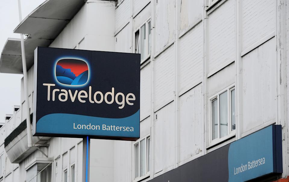 General view of a Travelodge hotel in Battersea, London, as the budget hotel chain is to create 420 new jobs by opening 14 hotels across the UK and Spain this year.