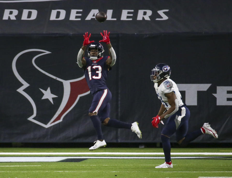 Cooks had one of the best seasons of his career in 2020. For the fifth time in his seven-year career, Cooks caught for over 1,000 receiving yards (1,150 yds) while recording a team-best 81 receptions. The Oregon State prodigy was without a doubt the Texans' most reliable wideout last season, but that was with Deshaun Watson behind center for all 15 games played.  For the first time in his career, Cooks will be catching passes from a quarterback who is not in consideration among the most skilled at their position. Playing alongside an inferior talent at QB should not hinder his on-field production, but Cooks' 2021 season will inevitably end without the deserved recognition — again.  Barring any significant injuries, he will likely lead the Texans in both receiving yards and receptions. Plus, Cooks' leadership qualities will become a pillar for success to the Texans' young receivers Nico Collins and Isaiah Coulter.  The biggest question surrounding Cooks this year is whether or not he will remain a Texan throughout the season. With the Texans entering the prelude of a rebuild, there is a possibility Nick Caserio could move Cooks in an attempt to get assets back to acceleration the process.