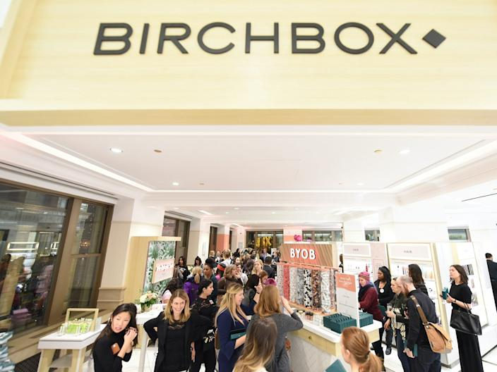 birchbox retail store CHICAGO, IL - DECEMBER 11: Guests celebrate the arrival of the Birchbox retail experience at Walgreens in Chicago (410 N. Michigan Ave.) on December 11, 2018 in Chicago, Illinois. (Photo by Daniel Boczarski/Getty Images for Walgreens)