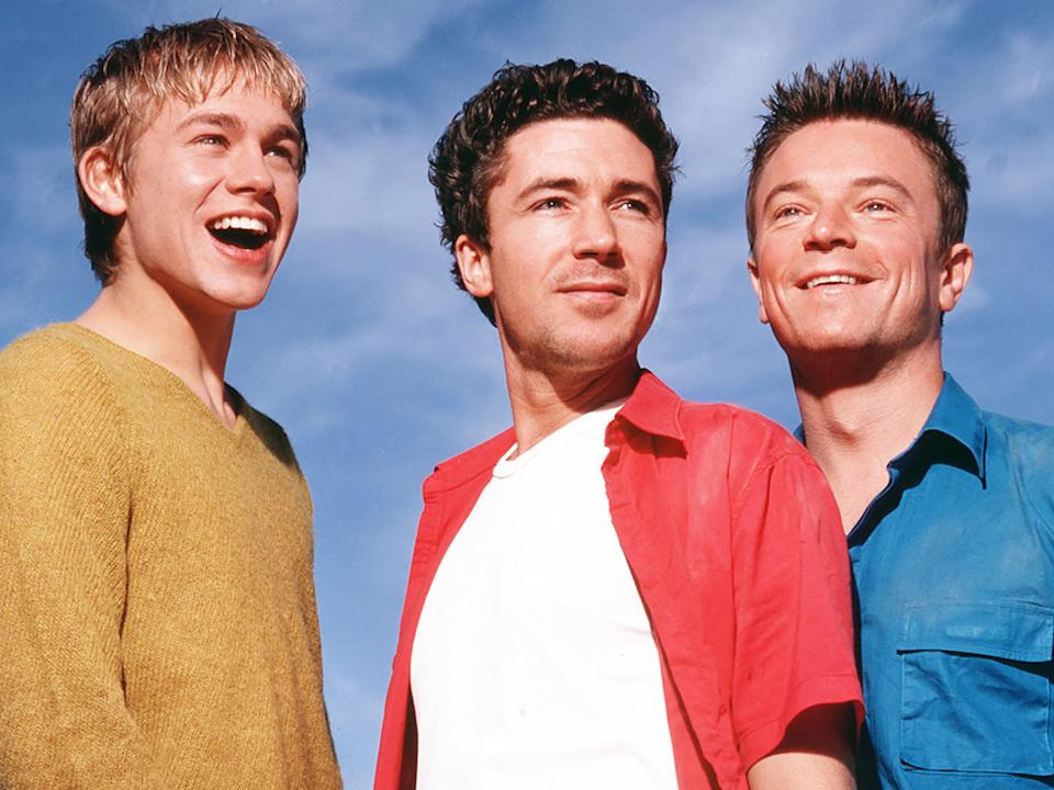 Charlie Hunnam, Aidan Gillen and Craig Kelly in Queer as FolkChannel 4