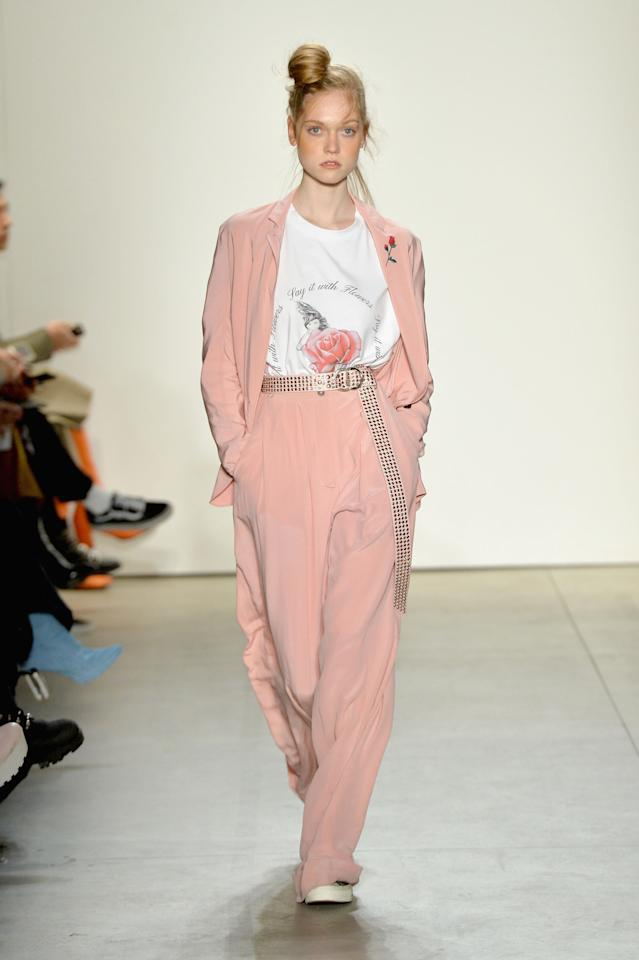 <p>The mood these days might call for something somber, but why not stick it to the man with pink? </p>