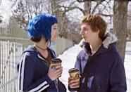 "<p>In the epic quest for love, Scott Pilgrim (<a class=""link rapid-noclick-resp"" href=""https://www.popsugar.co.uk/Michael-Cera"" rel=""nofollow noopener"" target=""_blank"" data-ylk=""slk:Michael Cera"">Michael Cera</a>) is after the dreamy delivery girl, Ramona (Mary Elizabeth Winstead). The only problem? Defeating all seven of her evil exes before he can win her heart.</p> <p>Watch <strong><a href=""http://www.netflix.com/watch/70117312?trackId=13752289&amp;tctx=0%2C0%2C72562969-f6c6-49b0-a1ef-189492d56f03-258943852%2C%2C"" class=""link rapid-noclick-resp"" rel=""nofollow noopener"" target=""_blank"" data-ylk=""slk:Scott Pilgrim vs. the World"">Scott Pilgrim vs. the World</a> </strong>on Netflix now. </p>"