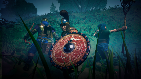 Formations play a role in The Waylanders' combat.