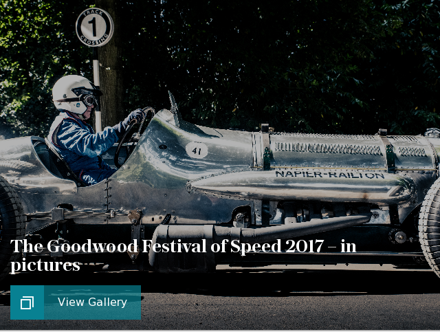 The Goodwood Festival of Speed 2017 – in pictures
