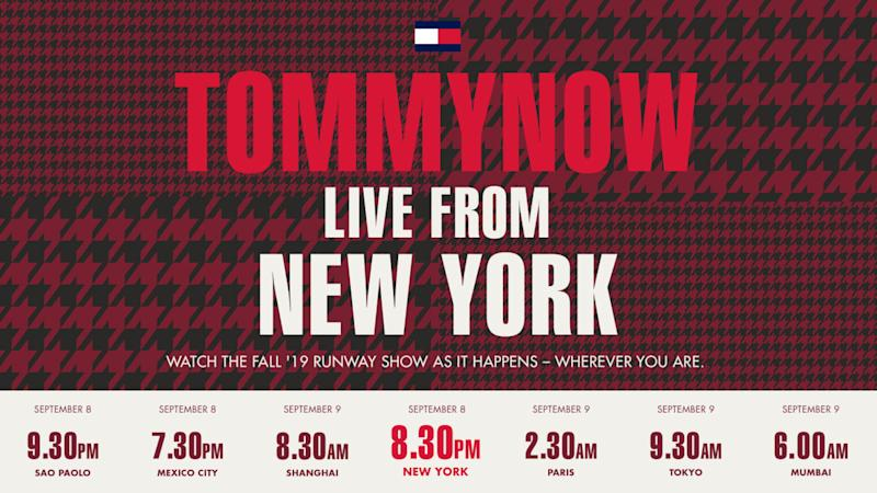 Watch the Tommy Hilfiger X Zendaya TommyNow Runway Show Live