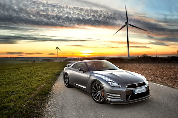 Nissan hints at hybrid future for GT-R