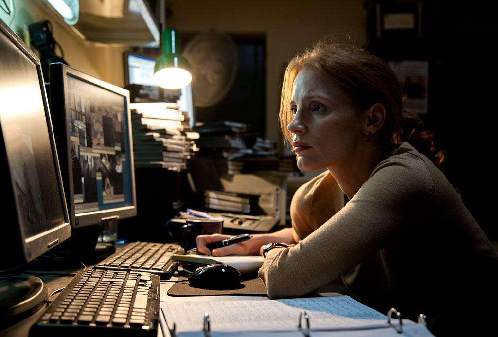 "Jessica Chastain in Columbia Pictures' ""Zero Dark Thirty"" - 2012"