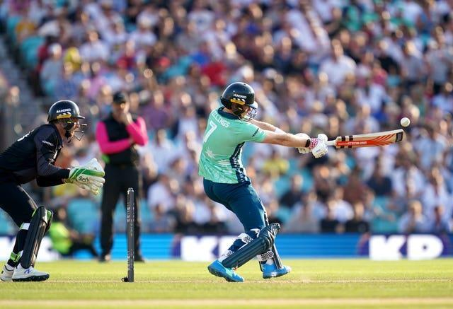 Sam Billings led from the front for the Invincibles