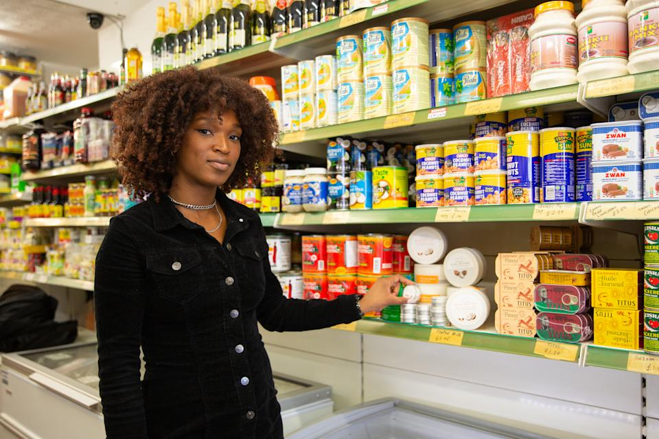 Ifunanya Nwadike launched her own skincare brand as none of the options readily available on the British high street suited her skin type. (Picture: Nicole George)
