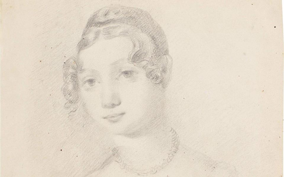 Constable's sketch of his cousin Jane Anne Inglis - Sotheby's