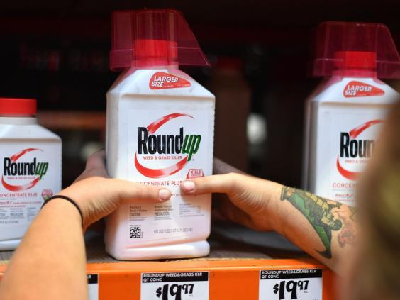 File image of Roundup weedkiller products. (AFP/Getty Images)