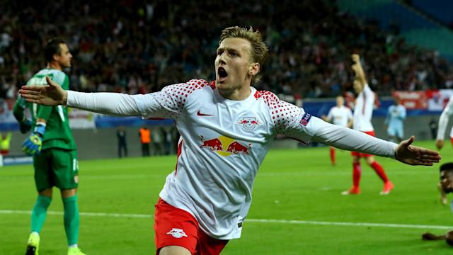 """The Sweden international has hinted at leaving RB Leipzig by airing his dream of playing for one of """"the strongest clubs in the world"""""""