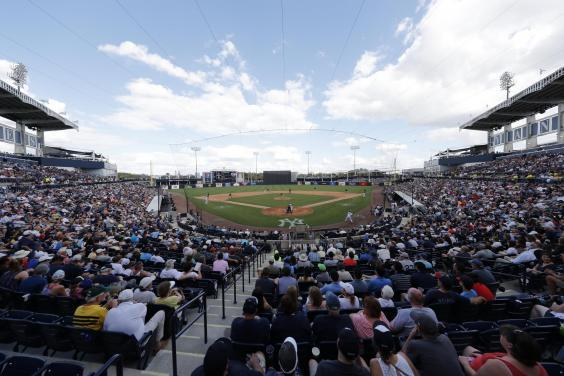 Inside MLB spring training with the Red Sox and New York Yankees