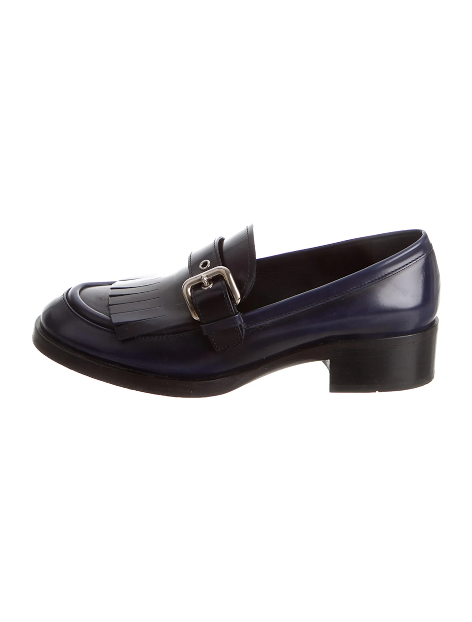 """<br><br><strong>Prada</strong> Leather Fringe Trim Accent Loafers, $, available at <a href=""""https://go.skimresources.com/?id=30283X879131&url=https%3A%2F%2Fwww.therealreal.com%2Fproducts%2Fwomen%2Fshoes%2Fflats%2Fprada-leather-fringe-trim-accent-loafers-86j2h%3Fposition%3D44"""" rel=""""nofollow noopener"""" target=""""_blank"""" data-ylk=""""slk:The RealReal"""" class=""""link rapid-noclick-resp"""">The RealReal</a>"""