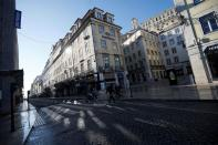 Lisbon downtown on the first day of the second national lockdown due to coronavirus disease (COVID-19) pandemic