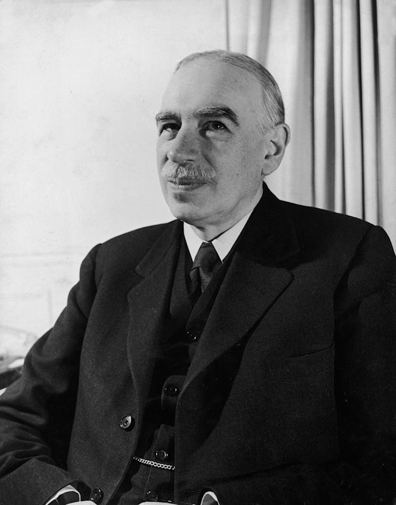 British economist John Maynard Keynes sitting in his study at home. (Photo by Walter Sanders/The LIFE Picture Collection via Getty Images) (Photo: Walter Sanders via Getty Images)