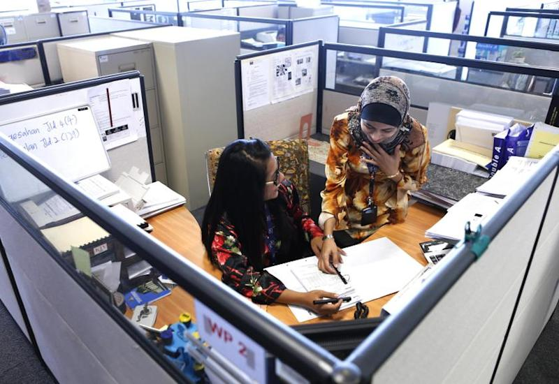 Awam said that a proper and comprehensive sexual harassment policy at the workplace would set the foundation for better working environments and working relationships while improving productivity. — Reuters pic