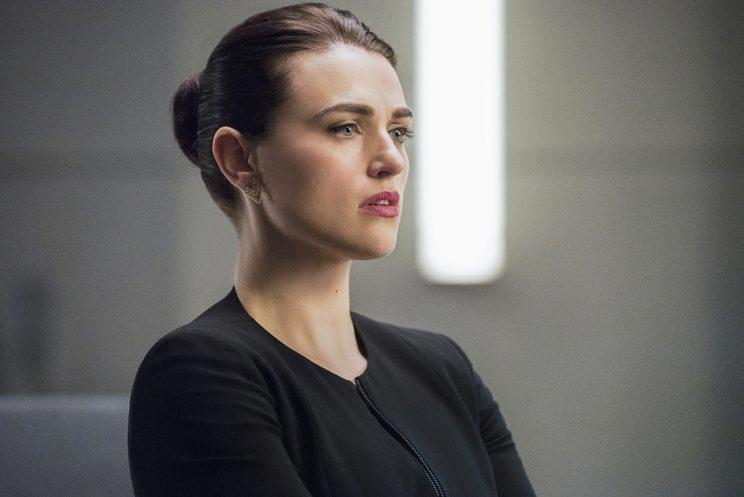 Katie McGrath as Lena Luthor in The CW's Supergirl. (Photo: Dean Buscher/The CW)