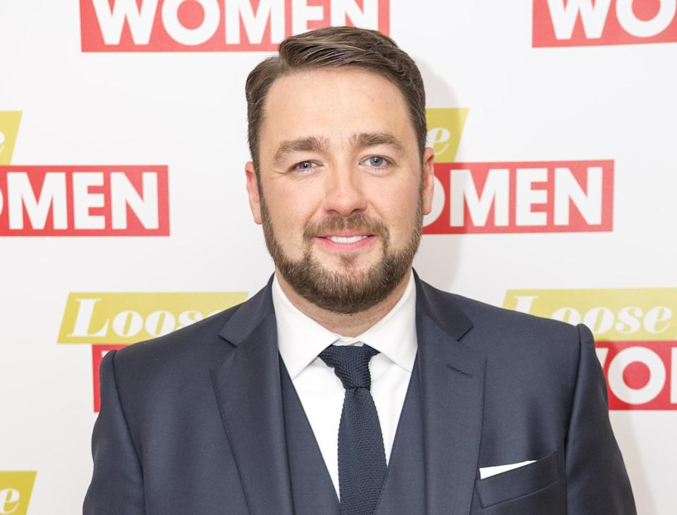 Jason Manford offered his kindness on Facebook to a fan. (Credit: REX)