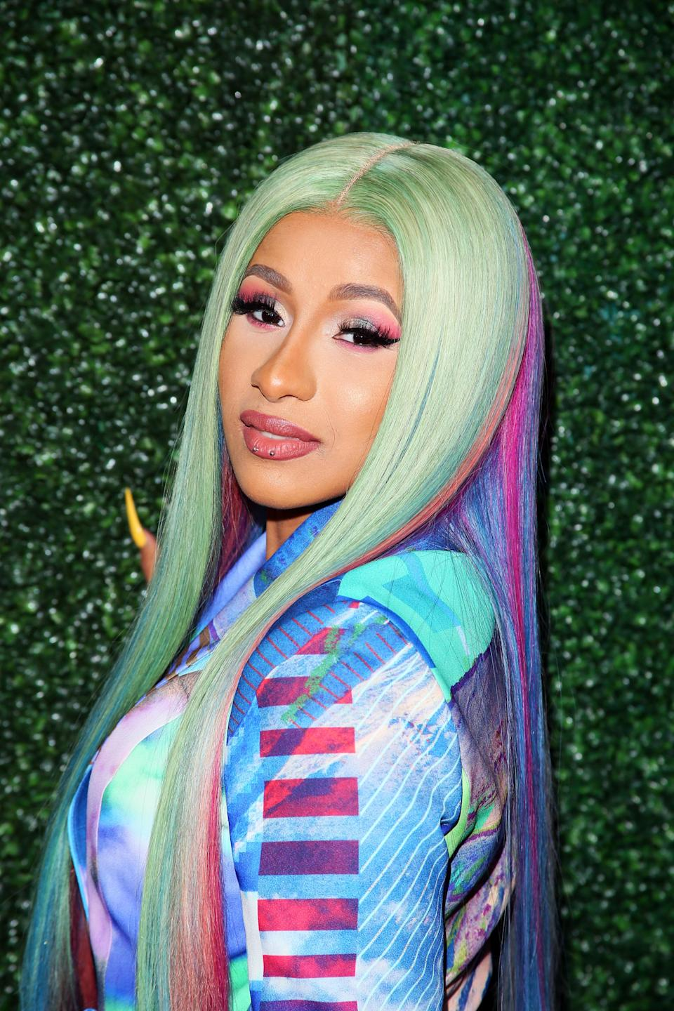 """Rapper Cardi B, whose birth name is Belcalis Marlenis Almánzar, took it upon herself to reveal how she got her stage name. """"My name is Belcalis,"""" she <a href=""""https://twitter.com/iamcardib/status/755987030086221824"""" rel=""""nofollow noopener"""" target=""""_blank"""" data-ylk=""""slk:tweeted"""" class=""""link rapid-noclick-resp"""">tweeted</a> in 2016. """"Growing up people called me Bacardi cause my sister name is Hennessy...FYI."""" The more you know!"""