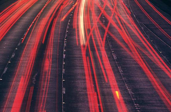 environmental concerns, color, horizontal, blur, background, motion, exterior, outside, night, center, environment, highway, f