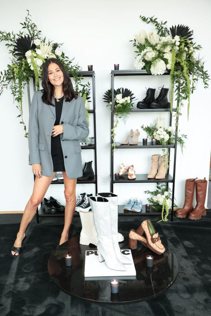 Dani Michelle launches her DSW collection with a lunch during New York Fashion Week, Sept. 8. - Credit: Courtesy of DSW