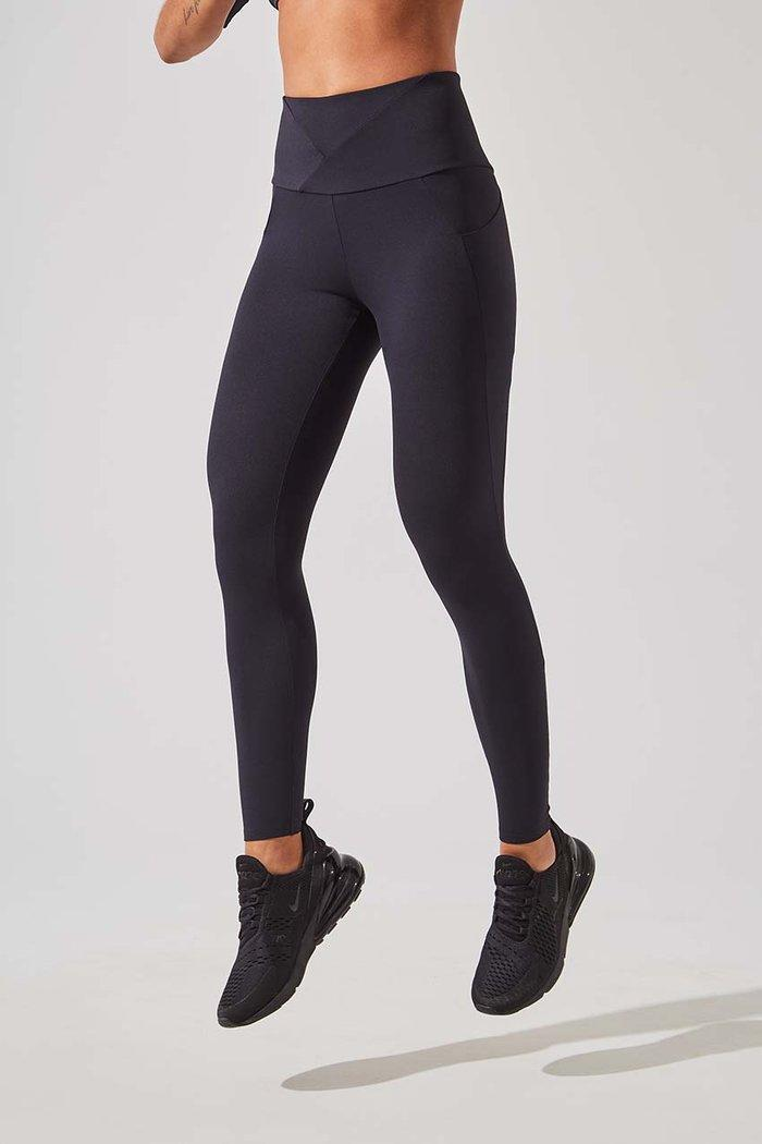 MPG Down Dog High Waisted Recycled Nylon 7/8 Legging (Photo via MPG)