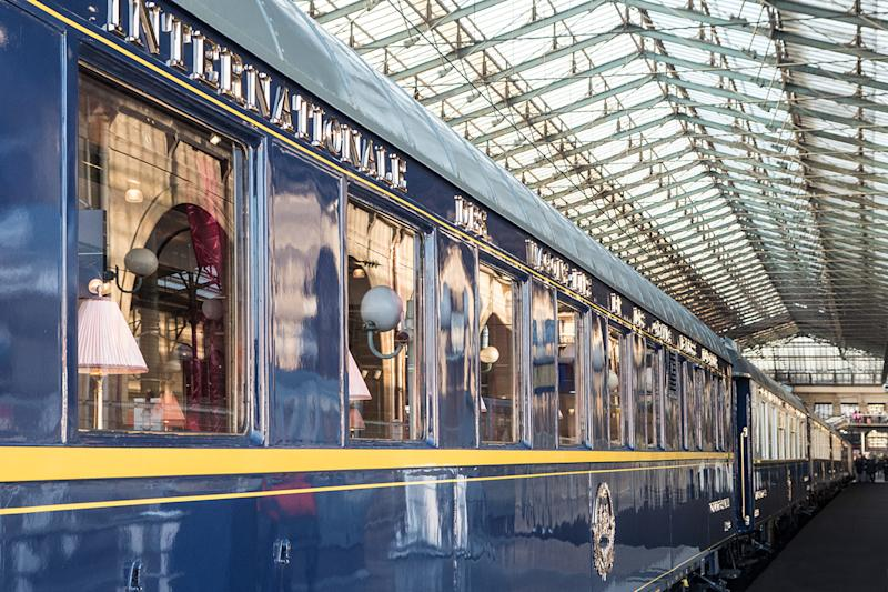 The exterior of one of the train cars. (PHOTO: Orient Express)