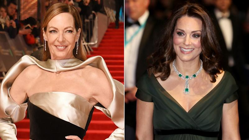 Allison Janney Hilariously Broke Royal Protocol When She Met Kate Middleton