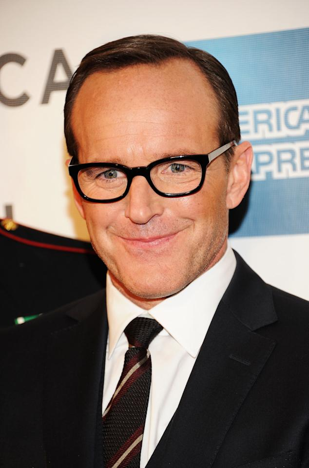 "NEW YORK, NY - APRIL 28:  Actor Clark Gregg attends the ""Marvel's The Avengers"" Premiere during the 2012 Tribeca Film Festival at the Borough of Manhattan Community  College on April 28, 2012 in New York City.  (Photo by Jason Kempin/Getty Images for Tribeca Film Festival)"