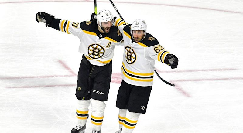 The Boston Bruins are headed back to the Stanley Cup Final. (Getty)