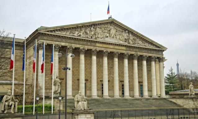 A member of France's National Assembly is in intensive care after catching coronavirus (Picture: Getty)