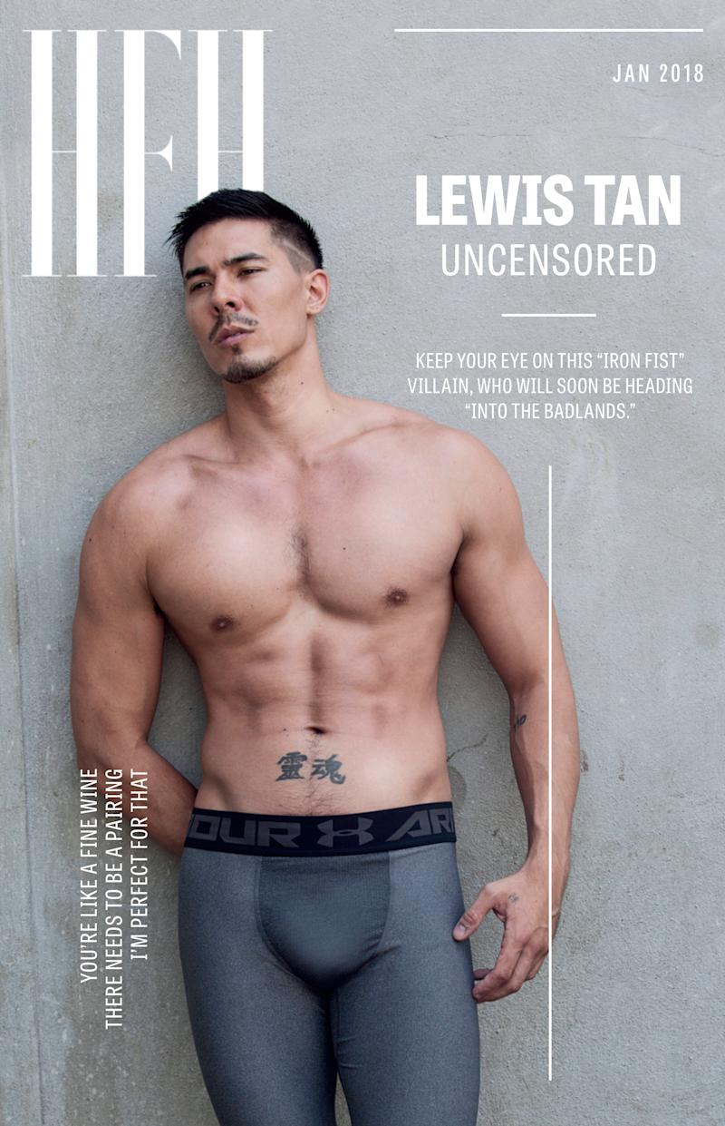 Lewis Tan.  (Photo by Michael Blank Design by Amanda Lui)