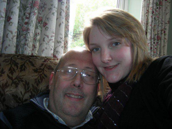 My dad Roger, and me, pictured in 2007 (Photo: HuffPost UK)