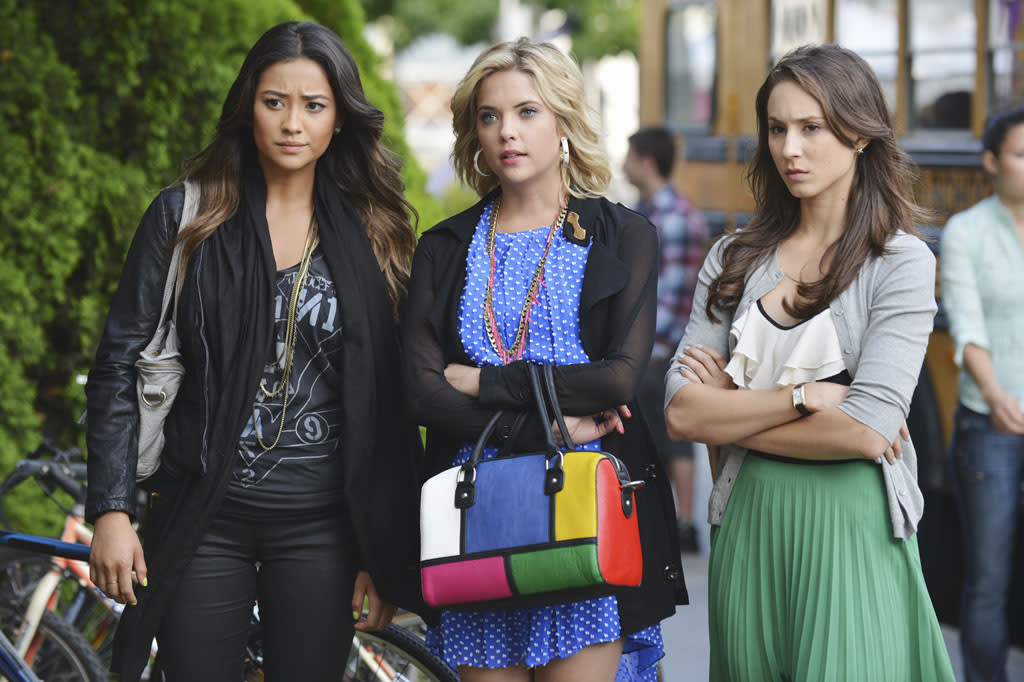 """In the mid-season premiere of """"Pretty Little Liars"""" entitled """"She's Better Now,"""" Radley Sanitarium has given Mona a clean bill of health and she is headed back to the halls of Rosewood High, much to the Liars dismay. With their former tormentor now back in their everyday life, Aria, Emily, Hanna and Spencer take very different views of the """"new"""" Mona. Sure she made their lives a living hell, but is she really cured? And what other secrets could she be holding onto? It is up to Mona to prove to the Liars if she has changed or not."""