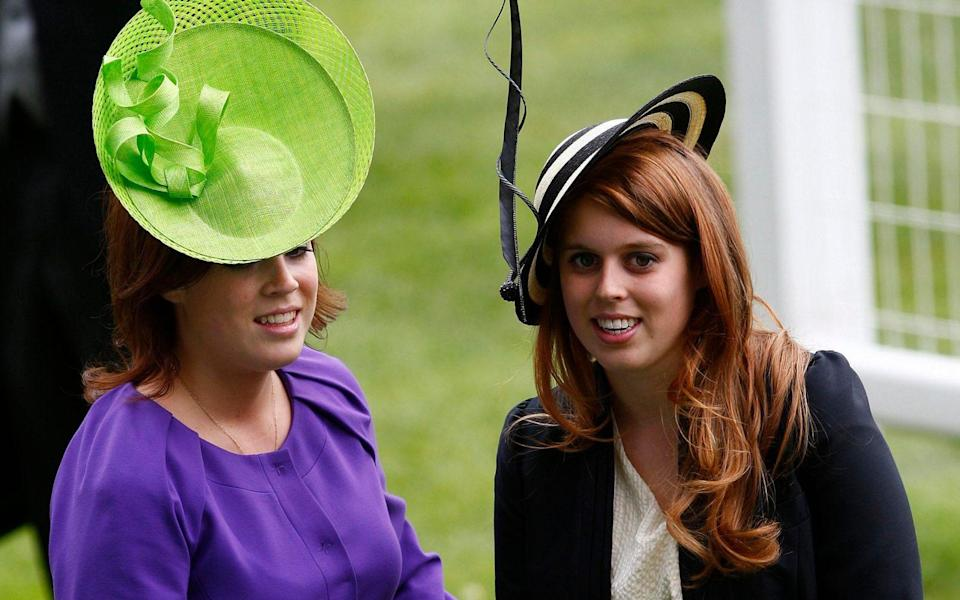 princesses eugenie and beatrice ascot style - Getty