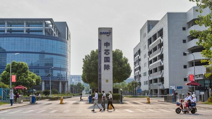 SMIC makes computer chips for use by Chinese and US companies, among others