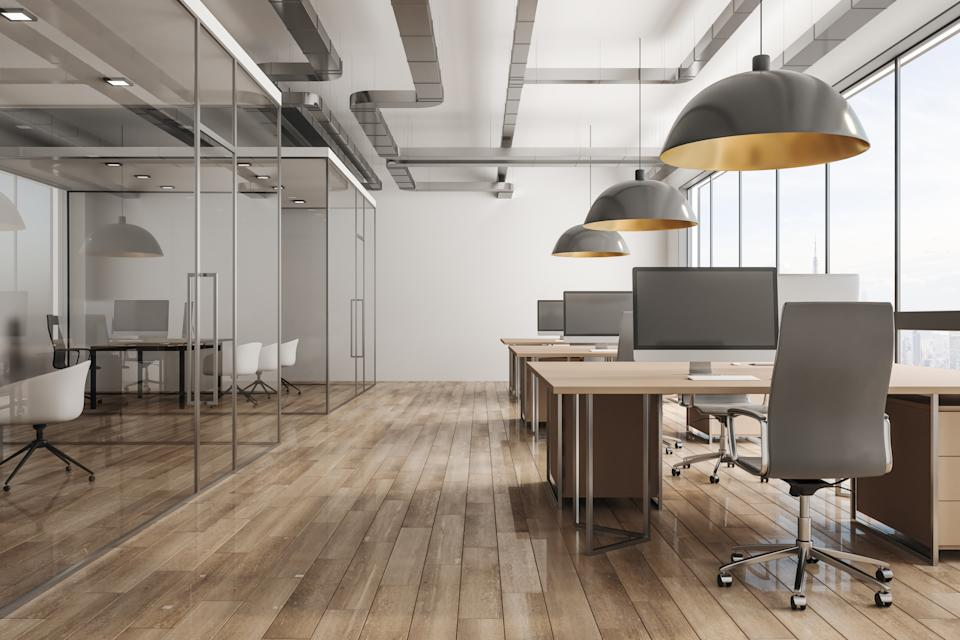 Most businesses anticipate reducing their office footprint over the next two years. Photo: Getty