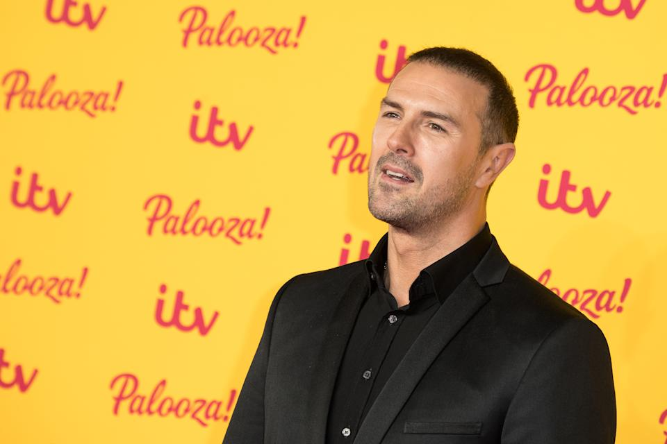 LONDON, ENGLAND - OCTOBER 16:  Paddy McGuinness attends the ITV Palooza! held at The Royal Festival Hall on October 16, 2018 in London, England.  (Photo by Jeff Spicer/WireImage)