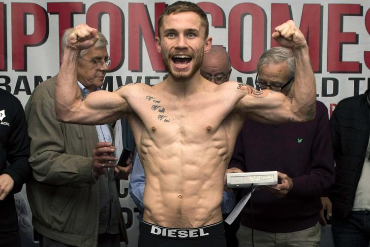 Carl Frampton defeats Jeremy Parodi in IBF World Title Eliminator fight
