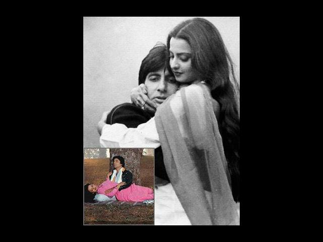 <b>Amitabh and Rekha</b><br>This is certainly the most unsuccessful love-story of one of the most successful romantic pairs of Bollywood. Their love story began on the sets of film Do Anjaane. Soon, their affair came in the limelight and even made headlines saying Rekha and Amitabh have got secretly married. But these speculations caught more fire when Rekha turned up at Rishi Kapoor and Neetu Singh's wedding wearing sindoor and mangalsutra. Many questions about this jodi's affair were answered with this bold step of Rekha. Amitabh Bachchan despite the superfluous love for Rekha, never admitted it in public. On the other hand, Rekha boldly admitted her love for him.
