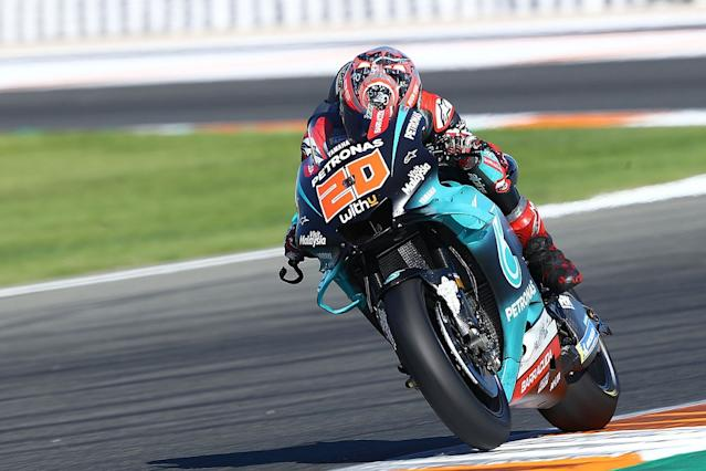 Quartararo crashes, Marquez brothers fall in test