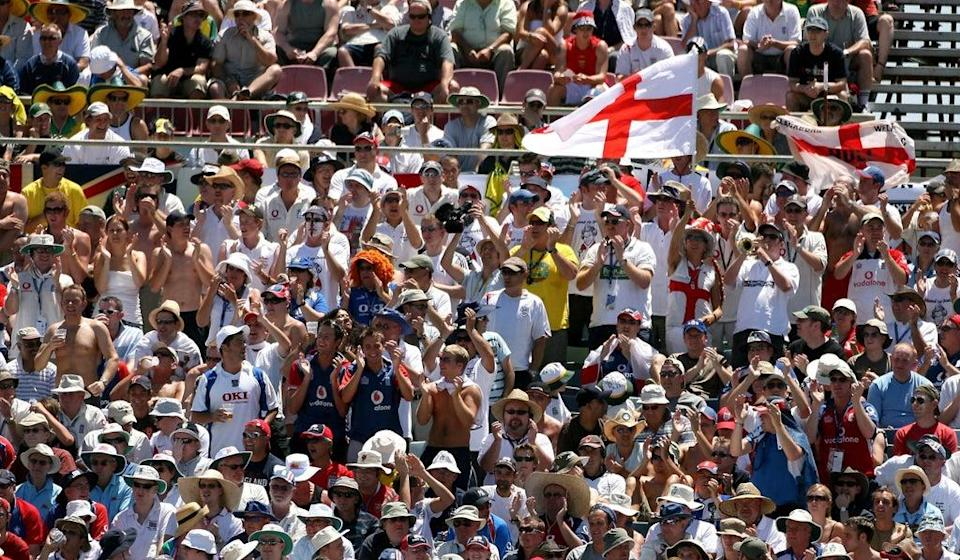 England's Barmy Army vowed to make up for lost time at the T20 World Cup (Gareth Copley/PA) (PA Archive)