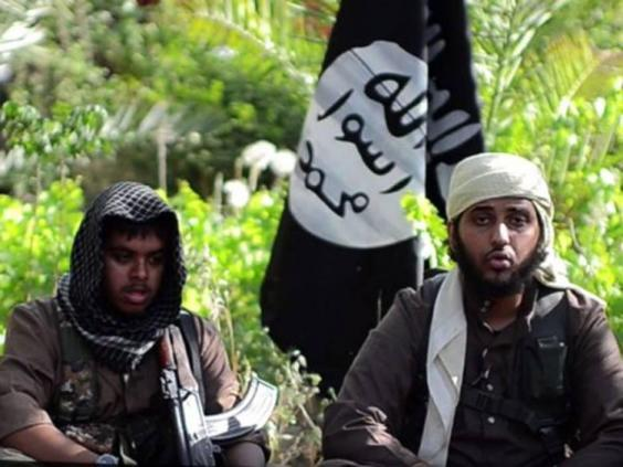 Reyaad Khan, left, and Nasser Muthana appear in a video aimed at recruiting jihadists