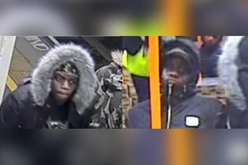 Met police are looking to speak to these two men in connection with a hate crime