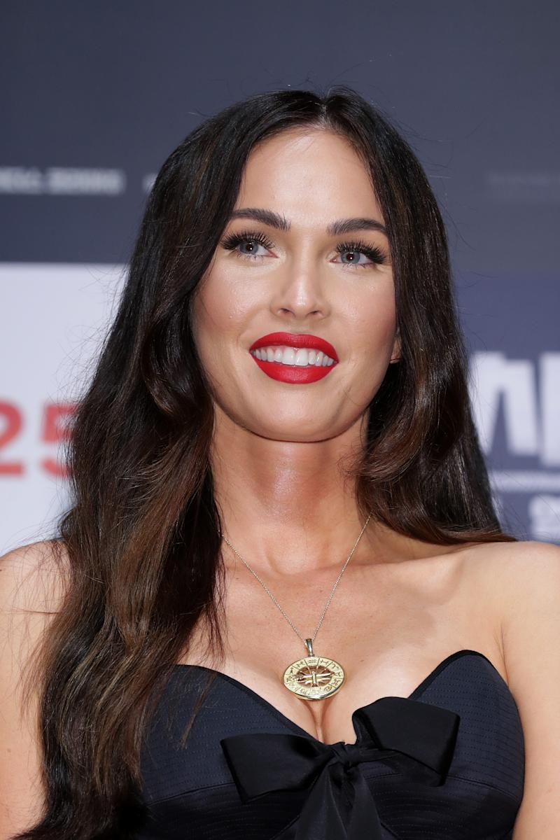 Megan Fox attends the press conference for 'Battle Of Jangsari' on August 21, 2019 in Seoul, South Korea. The film will open on September 25 in South Korea. (Photo by Han Myung-Gu/WireImage)