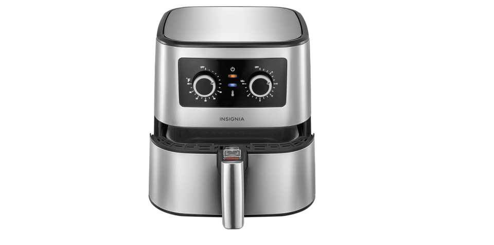 Insignia Air Fryer - 4.8L/5.1QT - Stainless Steel