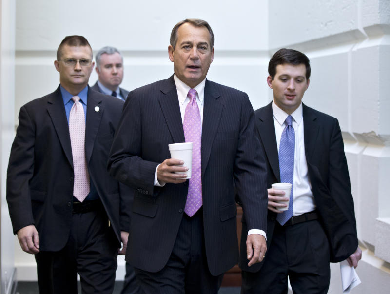 Talk of GOP primaries follows 'fiscal cliff' vote